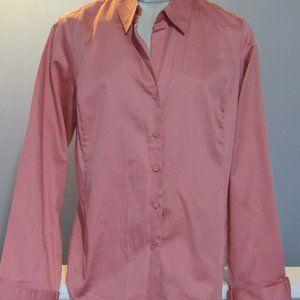 Talbots Cotton Blend Blouse size 12 NWT